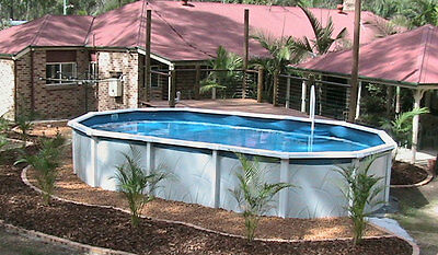 Heavy Duty Above Ground Pool Liner - 500 Micron - 5 Year p.r. Warranty