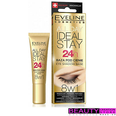 EVELINE All Day Ideal Stay 24h Eyeshadow Base 8in1 12ml EV073