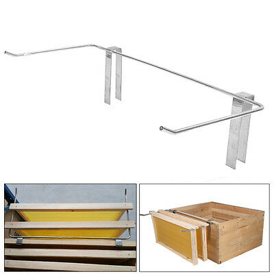 New Sliver Stainless Steel Beekeeping Frame Holder Bee Hive Perch Durable 47cm