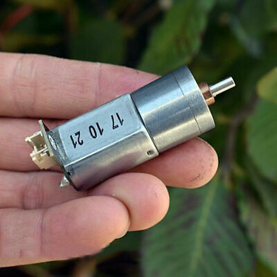 DC 3V~6V 5V 2-Phase 4-Wire 8MM Micro Worm Reducer Gearbox Gear Stepper Motor DIY