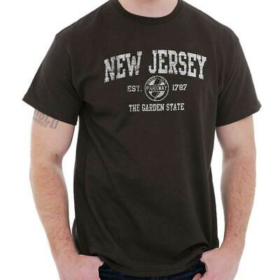 New Jersey  Vintage State Graphic Retro Hometown  T-Shirt Tee