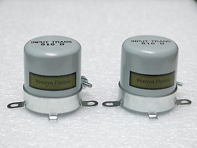 Two Western Electric 618B transformer case replica