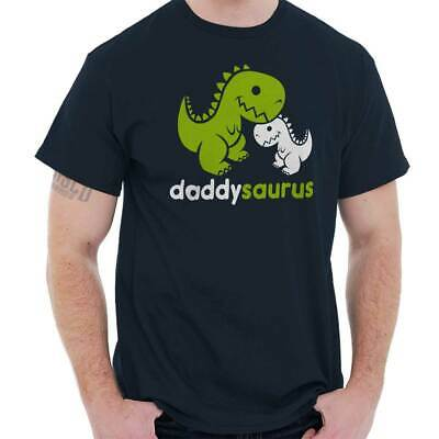 Daddysaurus T Rex Fathers Day Gift Baby Clothes T-Shirt