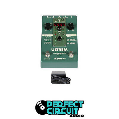 Guyatone Ultrem Optical Tremolo GST-C04 Guitar PEDAL - USED - PERFECT CIRCUIT