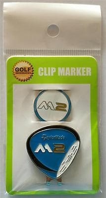 Taylormade M2 Hat Clip and Magnetic Ball Marker - Blue