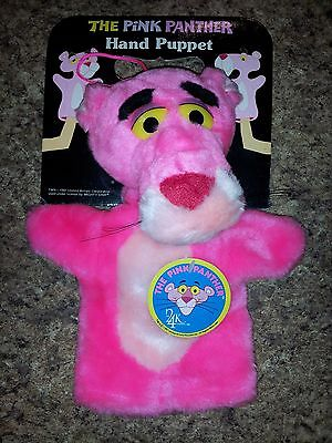 Vintage Pink Panther Hand Puppet Mighty Star *NEW