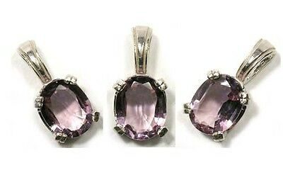Antique 19thC 2ct Scotland Amethyst Medieval Roman Catholic Bishop Celibacy Pend