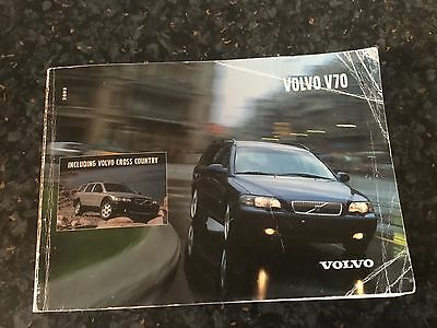 Volvo V70 (2000- 2005) Owners Manual