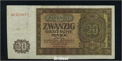 1948 20Mark DDR Banknote Ro:344c (81907)