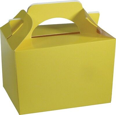 Wholesale Job Lot 150 Yellow Food Boxes *Party *Boys *Girls
