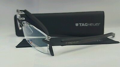 TAG HEUER TH8108 001 Trends Black Rimless Eyewear FRAMES Optical  Glasses