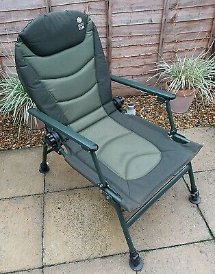 JRC Relaxer Recliner Fishing Chair with Arms (carp/coarse)
