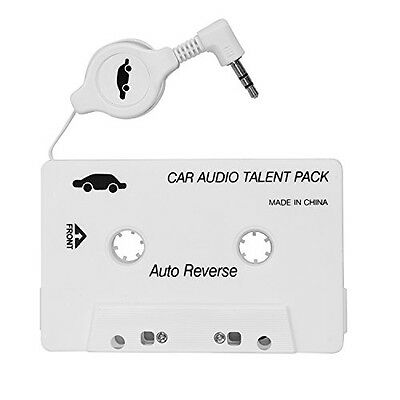 ZJEGO Car Audio Cassette Tape Adapter for iPhone iPad iPod MP3 Player