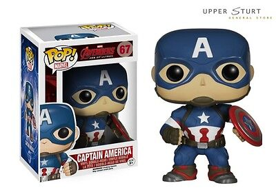 Pop Marvel Avengers 2 Captain America 67 Funko Pop Vinyl Expert Packaging