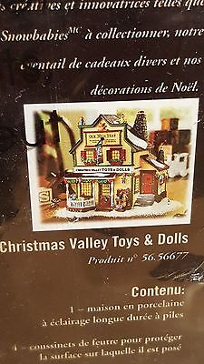 Department 56 Christmas Valley Toys & Dolls
