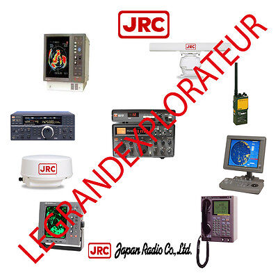 Ultimate JRC Japan Radio Co Operation Repair Service Manuals   200 PDFs manual s