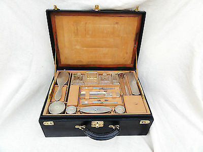 A Stunning French Silver Fitted  Case