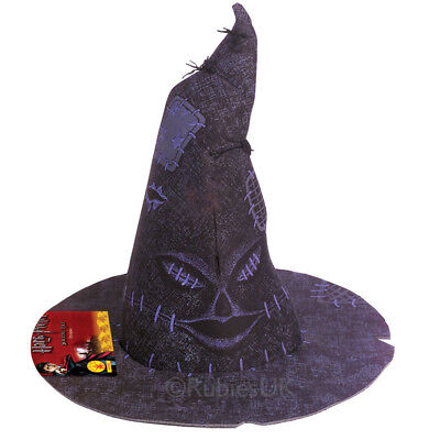 Harry Potter Sorting Hat Official Gryffindor Fancy Dress Wizard Rubies 49957