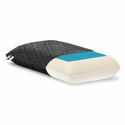 Z by MALOUF Travel DOUGH Memory Foam + Z Gel Pillow Removable Rayon from Bamboo