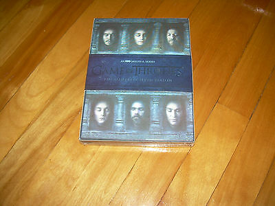 Complete Sixth Season 6 Six DVD Sealed GAME OF THRONES HOLO COVER (2016, 5 DISC)