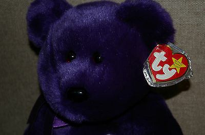"Ty Beanie Buddy Bear ""Princess"" (Diana Memorial)"