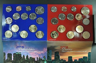2010 United States Mint 28 Coin Uncirculated Set - Original Box from the US Mint
