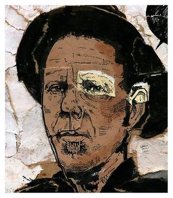 Tom Waits  **POSTER**  LARGE PRINT -  Rain Dogs  Bone Machine  Swordfishtrombone