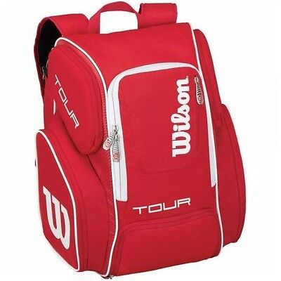 Wilson Tour V BackPack Large-Rosso