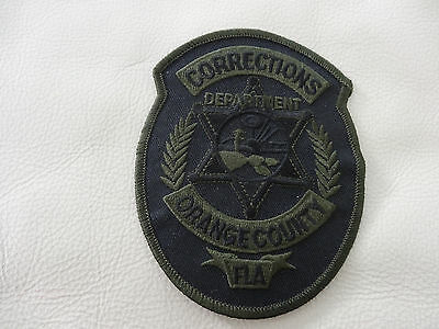 Orange County Florida Corrections Department Patch. Subdued.