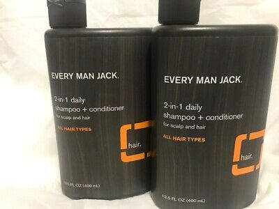 Every Man Jack 2-in-1 Daily Citrus Shampoo plus Conditioner 13.5 fl oz