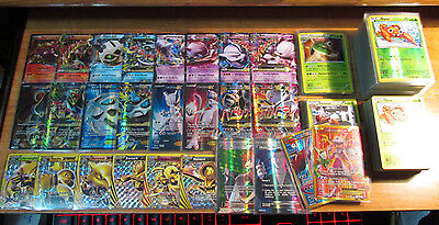 Complete MASTER Pokemon XY BREAKTHROUGH Card Set Full Art Reverse Holo X and Y