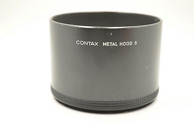 Excellent Contax Metal Lens Hood 5 From Japan
