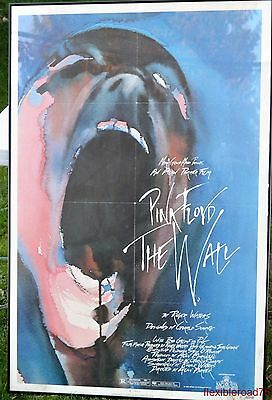 Pink Floyd Movie Poster 1982 The Wall Original Theater Poster Framed  27x41