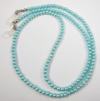 Mint Pearls Sunglasses Reading Glasses Spectacles Eyeglass Holder Chain Cord
