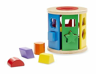 Shape Sorting Drum - Sorting Toy by Melissa & Doug (9041)