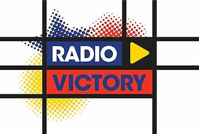 Radio Victory 1 1980 Complete UK Local Radio Station Jingle Package