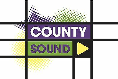 County Sound 1 1984 Complete UK Local Radio Station Jingle Package