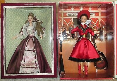 Grand Ole Opry Barbie Country Rose and Victorian Barbie with Cedric Bear - NRFB