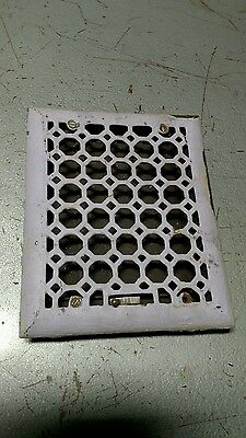 Reclaimed Vintage Antique Ornate  Wall Mount House Register Vent . As found