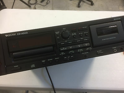 Tascam CDA500 CD Player and Cassette Recorder