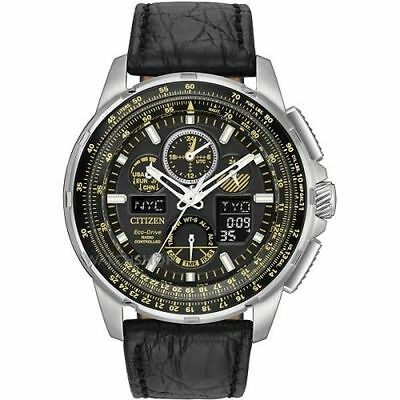 New Limited Edition Citizen Eco-Drive Radio Controlled Skyhawk A-T Jy8057-01E