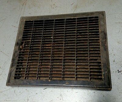 "Reclaimed Vintage Antique stamped steel Register Vent 16"" x 14"" fill the hole"