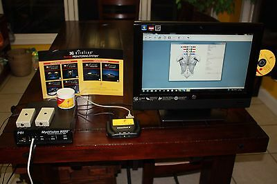 Touchscreen Myovision 8000 sEMG Chiropractor System with Large HP Computer