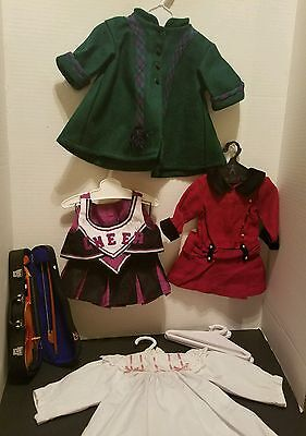 American Girl Doll Clothes + Violin Lot