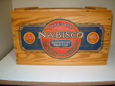 National Biscuit Company 100th Anniversary Wooden Box