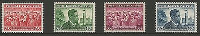 Lithuania Litauen 1939 MH Mi 425-428 Sc 306-309 20th Independence Anniversary is