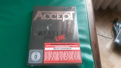Accept - Restless and live - DVD + 2 CD - NEW