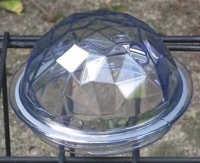 Starbucks Faceted Domed Lid ~ Clear