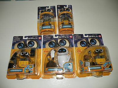 Disney WALL E Thinkway Toys Lot : EVE Protect N Serve, U-Repair, Cube N Stack,