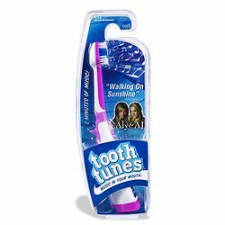 "Tooth Tunes Battery Powered Toothbrush - Aly & AJ ""Walking on Sunshine"""